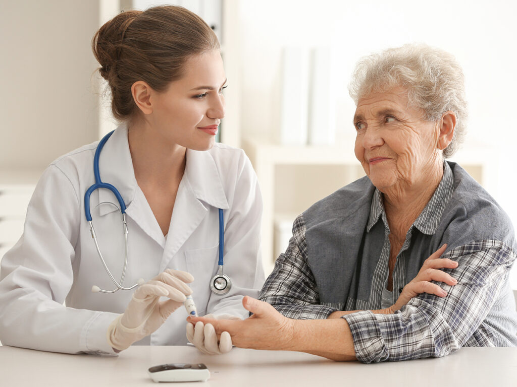 Tips for Seniors Living With Diabetes - A Place at Home