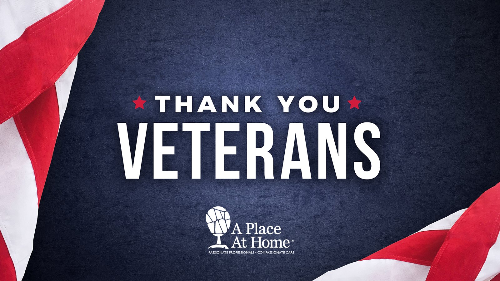 Thank You Veterans - A Place At Home
