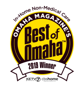 Omaha Magazine's Best of Omaha 2019 First place in In-Home Non-Medical Care