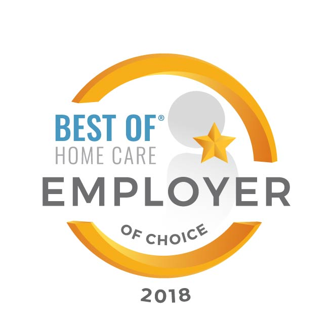 Best of Home Care Employer of Choice 2018 logo