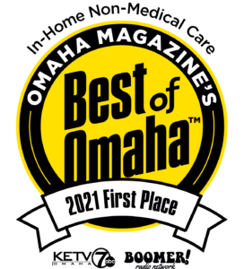 Omaha Magazine's Best of Omaha 2021 First place in In-Home Non-Medical Care