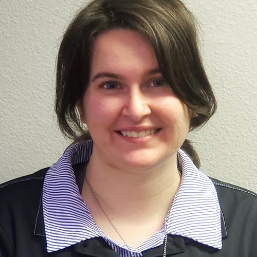 A headshot of Lauren Costley